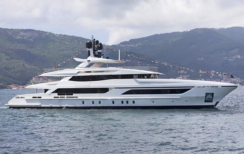 Верфь Baglietto Yachts спустила на воду яхту Andiamo