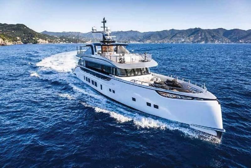 На стадии завершения строительство 35-метровой яхты «Dynamiq GTT-115»