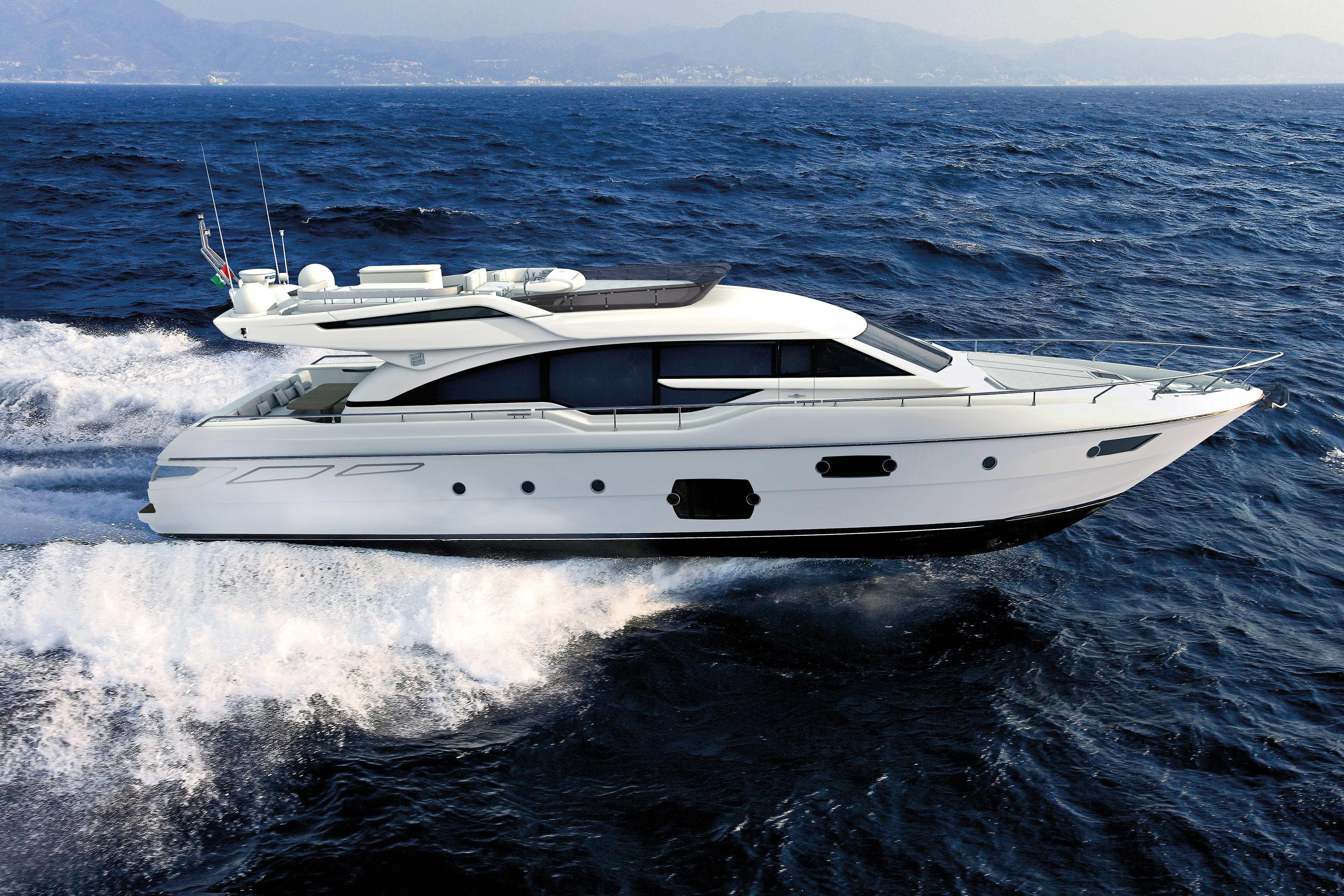 Ferretti Yachts 690 / 2012