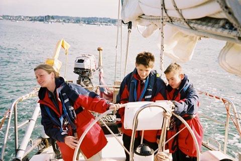 Детский яхтинг